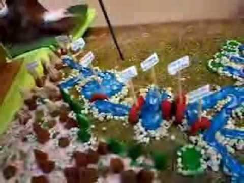 Maquetas sistema de riego san juan argentina youtube for Aspersores para riego de jardin