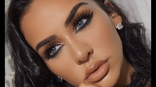 REVERSE SMOKEY EYE MAKEUP TUTORIAL | Carli Bybel