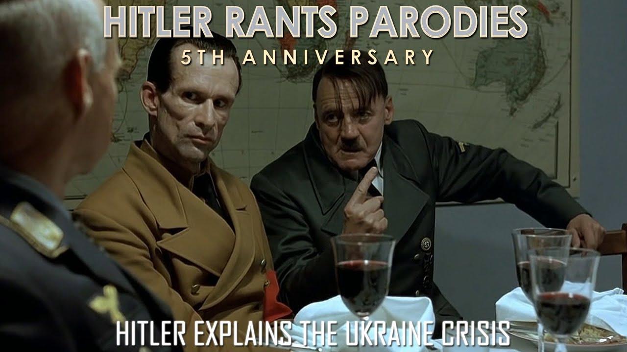 Hitler explains the Ukraine crisis