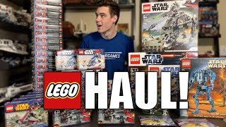 I BOUGHT TOO MUCH LEGO! 2019 Sets, LEGO MOVIE 2, Battle Packs, & MORE! (LEGO Haul)