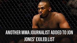 Jon Jones Beefing With Another MMA Journalist