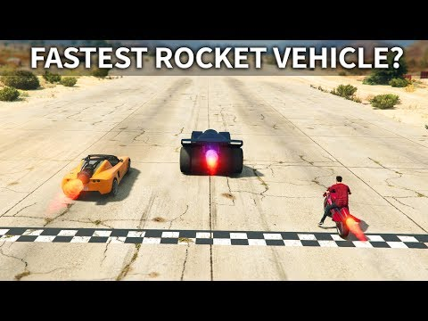 GTA V - Which Rocket Vehicle is the Fastest?