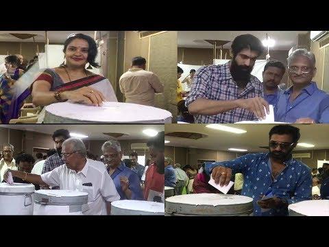 MAA Elections 2019 Voters Daggubati Rana | Pragathi Aunty Tollywood Heroes Actors | Cinema Politics thumbnail