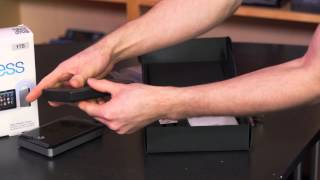 Seagate Wireless Plus Mobile Expansion Storage Unboxing