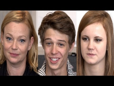 Under The Dome Mackenzie Lintz Colin Ford & Samantha Mathis Interview