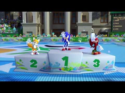 Mario & Sonic at the Sochi 2014 Olympic Winter Games: Winter Sports Champion Race [1080 HD]