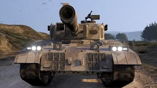 GTA V Online Fun : Tank Battle / Vehicle Deathmatch - Desert Storm