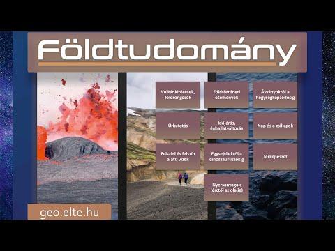 ELTE TTK - Földtudomány alapszak nyílt napja 2021