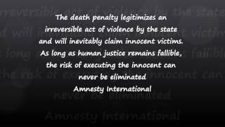 Capital Punishment Persuasive Essay