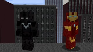 Minecraft: Iron Man Vs Batman [TR]