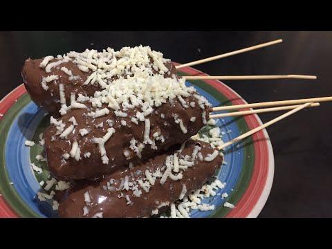 Banana Fried Chocolate Cheese reciepe   Resep Cara Membuat Pisang Pasir Cokelat Keju Anti Gagal