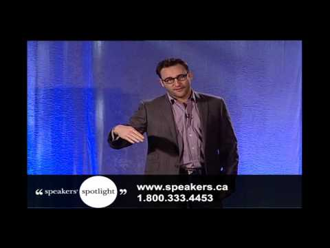 Simon Sinek - Renowned Leadership Expert and Author of Start With Why
