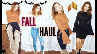 TRY-ON FALL HAUL! ft. Fashion Nova