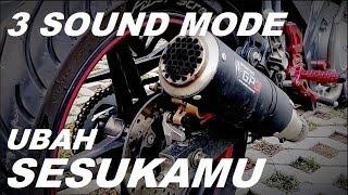 Pengecoh RAZIA? 3 Sound Mode Racing Exhaust Spartan GP3 Vixion