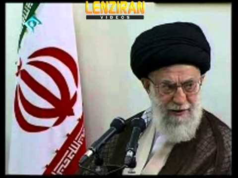 While Hasan Rohani talk against Ahmadinejad in Majlis , Khamenei  praise his services in Eftar part