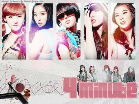 4Minute - What A Girl Want Mp3