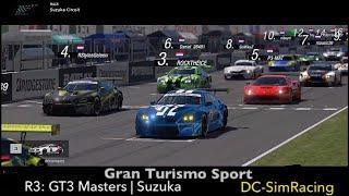 Gran Turismo Sport - GT3 Masters - Suzuka - DC-SimRacing.NL - LIVE