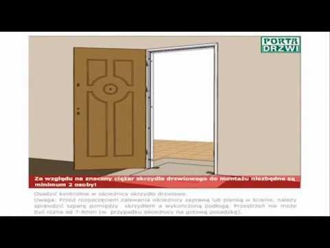 Poradnik Montaż drzwi wejściowych antywłamaniowych Opal Porta Drzwi Akademia Montażu