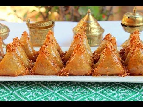 بريوات معلكين بالكاوكاو الفول السوداني / حلويات رمضان2018