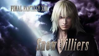 DISSIDIA FINAL FANTASY NT - Snow Villiers Reveal