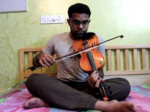 Mudhal Mazhai from Bheema in Violin by Subramoni Rengarajan