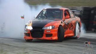 Nissan 200SX S14a powered by BMW M5 - S62 V8 Supercharged Engine!