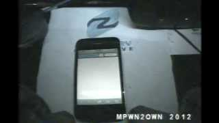 EUSecWest MobilePwn2Own iPhone 4S Exploit