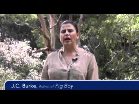 J.C. Burke talks about PIG BOY