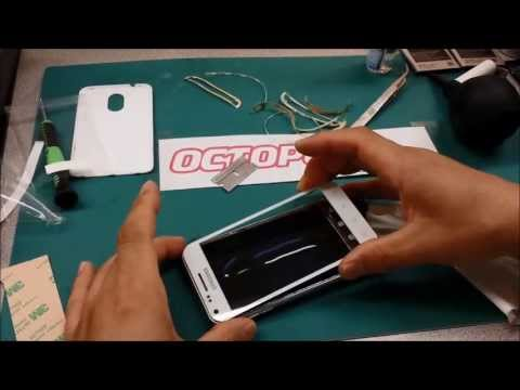 Galaxy S2 Screen Glass Only Replacement Repair using Octopus LOCA Glue - Sprint S2 D710
