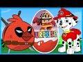 Энгри Бёрдс - Супергерои - Щенячий Патруль - Робокар Поли. Киндер сюрприз - Свит-бокс. Angry Birds