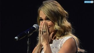 Download Lagu Pregnant Carrie Underwood Cries--Find Out Why! Gratis STAFABAND