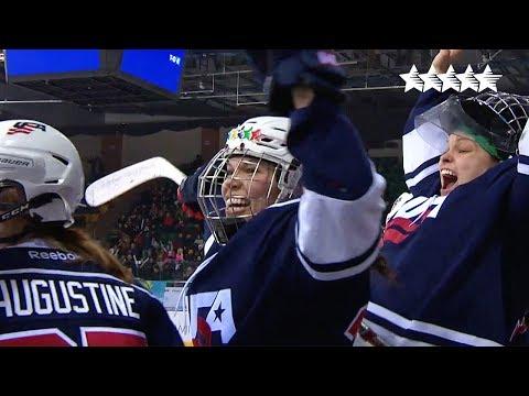 Ice Hockey Women's Bronze medal Game CHN vs USA - 28th Winter Universiade 2017, Almaty, Kazakhstan