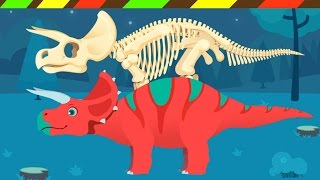 Lắp ráp xương Khủng Long cho trẻ em | Dinosaur bones for kids | DCTE VN