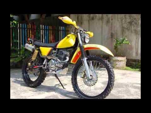Modifikasi Motor Trail Klasik Modifikasi Motor Trail
