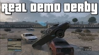 Grand Theft Auto 5 Online Custom Game I Real Demo Derby