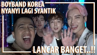 Boyband Korea Nyanyi lagi Syantik Lancar bangett..!! GTI (Global Tour Idol) From Korea