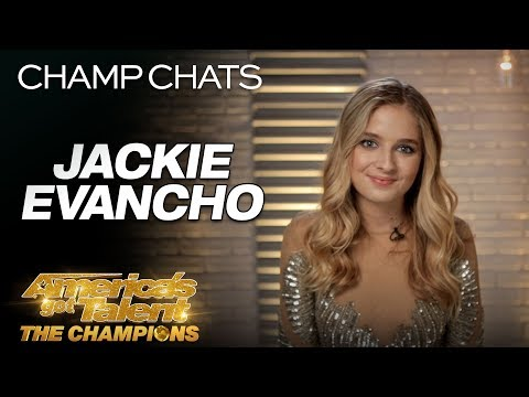 Jackie Evancho Describes Competing With The Best In The World - America's Got Talent: The Champions