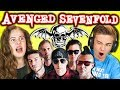 KIDS REACT TO AVENGED SEVENFOLD Metal Band mp3