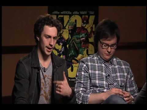 &quot;Kick-Ass&quot; Interview- Aaron Johnson and Clark Duke