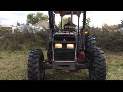 1998 Massey Ferguson 375 4WD Tractor FOR SALE Video 3