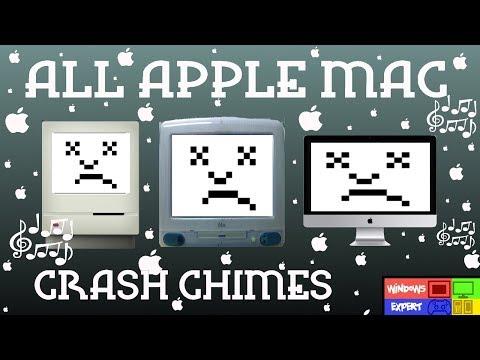 ALL APPLE MAC COMPUTER CRASH CHIMES