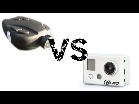 HD #16 808 Keychain Camera Lens D vs. GoPro Hero HD