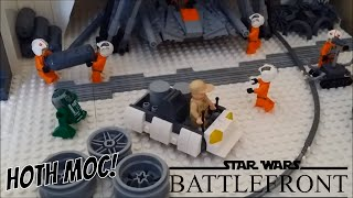 Lego Hoth MOC Accessories Closeup