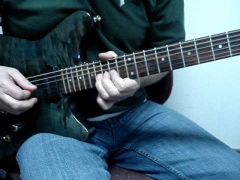 Two tickets to Paradise solo 2nd Half 1/2 speed guitar lesson