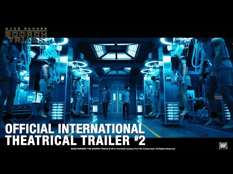 Maze Runner: The Scorch Trials [Official International Theatrical Trailer #2 In HD (1080p)]