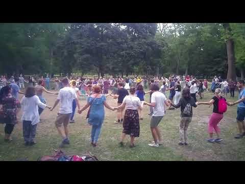 Sültü / The Sültü Band: Csango folk music and dance (11 July, 2019) - Szerba sztudencilor (moldvai)