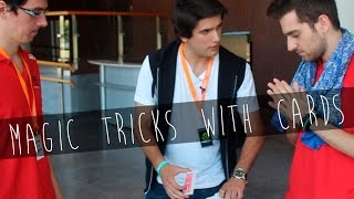Magic tricks with cards | Featuring Ocelote and Morden + Bonus Clip Trollcelote