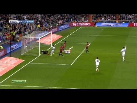 Real Madrid 4 - 0 Osasuna Sergio Ramos Goal