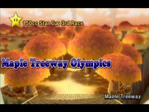 [MKW] Maple Treeway Olympics