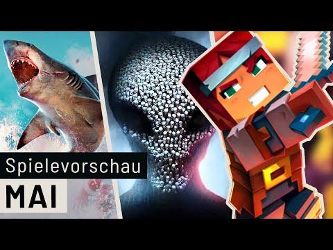 Neue Spiele im Mai: Minecraft Dungeons, Maneater, Xenoblade und viele mehr